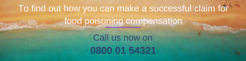 Find out how to make a food poisoning abroad claim